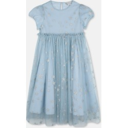 Stella McCartney Kids Silver Silver Stars Tulle Dress, Women's, Size 4 found on Bargain Bro UK from Stella McCartney UK