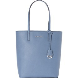 Michael Kors Hayley Large NS Top Zip Tote Denim - MICHAEL Michael Kors Designer Handbags