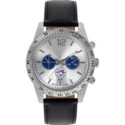Gametime Mens Letterman-MLB Watch Toronto Blue Jays - Game Time Watches