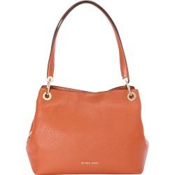 Michael Kors Raven Large Shoulder Tote Orange - MICHAEL Michael Kors Designer Handbags