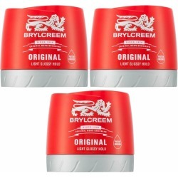 Brylcreem Original Light Glossy Hold Hair Cream 3 X 150Ml found on Makeup Collection from Feelunique (EU) for GBP 15.16