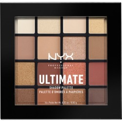 NYX Professional Makeup Ultimate Shadow Palette Warm Neutrals found on Makeup Collection from Feelunique (UK) for GBP 17.45