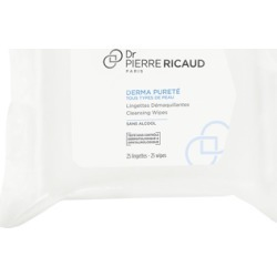 Dr Pierre Ricaud Derma Pureté Cleansing Wipes x 25 found on Makeup Collection from Feelunique (UK) for GBP 7.64