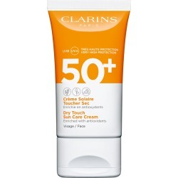 Clarins Dry Touch Sun Care Cream For Face Spf50+ 50Ml found on Makeup Collection from Feelunique (UK) for GBP 23.34