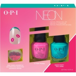 OPI PUMP Neon Collection Nail Art Duo #1 2 x 15ml - Limited Edition found on Makeup Collection from Feelunique (UK) for GBP 30.2