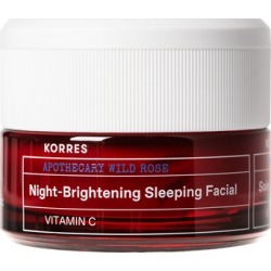 Korres Wild Rose Night-Brightening Sleeping Facial 40ml found on MODAPINS from Feelunique (UK) for USD $40.08