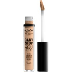 NYX Professional Makeup Can't Stop Won't Stop Contour Concealer 3.5ml Soft Beige found on Makeup Collection from Feelunique (UK) for GBP 8.72