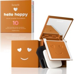 Benefit Hello Happy Velvet Powder Foundation 7g 10 Tan Warm found on Makeup Collection from Feelunique (UK) for GBP 12.77