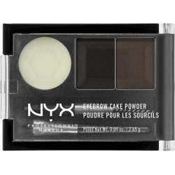NYX Professional Makeup Eyebrow Cake Powder 2.65g 1 Black/ Gray found on Makeup Collection from Feelunique (UK) for GBP 6.54