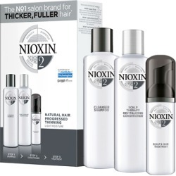 NIOXIN 3-part System Kit 2 for Natural Hair with Progressed Thinning found on Makeup Collection from Feelunique (UK) for GBP 36.69