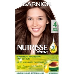 Garnier Nutrisse Cream Nourishing Permanent Hair Colour 4 - Dark Brown found on Makeup Collection from Feelunique (UK) for GBP 6.32
