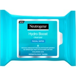 Neutrogena Hydro Boost Cleanser Facial Wipes 25 Wipes found on Makeup Collection from Feelunique (UK) for GBP 5.08