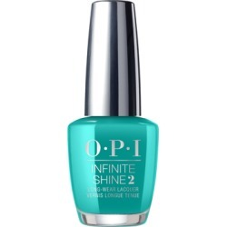 OPI PUMP Neon Collection Infinite Shine Nail Polish 15ml - Limited Edition Dance Party 'Teal Dawn