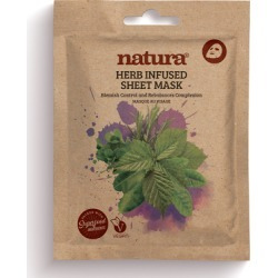 natura HERB INFUSED SHEET MASK found on Makeup Collection from Feelunique (UK) for GBP 5.07
