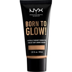 NYX Professional Makeup Born To Glow Naturally Radiant Foundation 30ml Neutral Buff found on Makeup Collection from Feelunique (UK) for GBP 10.18