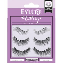 Eylure Fluttery False Lashes Multipack x 3 found on Makeup Collection from Feelunique (UK) for GBP 16.3