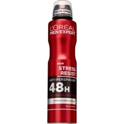 L'Oréal Paris Men Expert Stress Resist Anti-Perspirant Deodorant 250Ml found on Makeup Collection from Feelunique (EU) for GBP 3.52