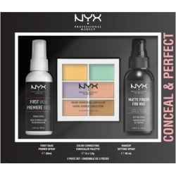 NYX Professional Makeup Conceal & Perfect Gift Set found on Makeup Collection from Feelunique (UK) for GBP 20.79