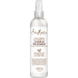 Shea Moisture 100% Virgin Coconut Oil Leave-In Conditioner 237ml found on Makeup Collection from Feelunique (UK) for GBP 11.42