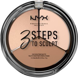 NYX Professional Makeup 3 Steps to Sculpt 15g Fair found on Makeup Collection from Feelunique (UK) for GBP 11.2