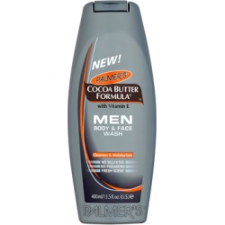 Palmer's Cocoa Butter Formula MEN Body & Face Wash 400ml found on Makeup Collection from Feelunique (UK) for GBP 4.32