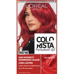 L'Oréal Paris Colorista Bright Red Permanent Hair Dye Gel Long-Lasting Permanent Hair Colour Kit found on Makeup Collection from Feelunique (UK) for GBP 6.53