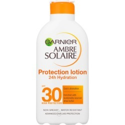 Garnier Ambre Solaire Moisturising Protection Milk SPF30 200ml found on Makeup Collection from Feelunique (UK) for GBP 9.5