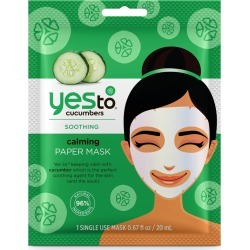 Yes To Cucumbers Calming Paper Mask found on Makeup Collection from Feelunique (EU) for GBP 4.08