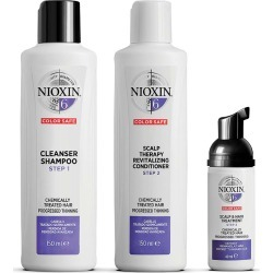 Nioxin 3-Part System Kit 6 For Chemically Treated Hair With Progressed Thinning found on Makeup Collection from Feelunique (UK) for GBP 39.68