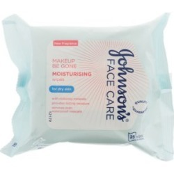 Johnson's Baby Face Care Moisturising Wipes Dry Skin - 25 wipes found on Makeup Collection from Feelunique (UK) for GBP 4.11