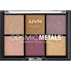 NYX Professional Makeup Cosmic Metals Shadow Palette found on Makeup Collection from Feelunique (UK) for GBP 8.72