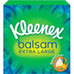 Kleenex Balsam Extra Large Tissues - 44 Tissues found on Bargain Bro UK from Feelunique (EU)
