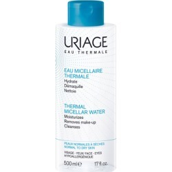Uriage Thermal Micellar Water for Normal to Dry Skin 500ml found on Makeup Collection from Feelunique (UK) for GBP 14.62
