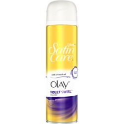 Gillette Satin Care Shaving Gel Violet Swirl With A Touch Of Olay 200ml found on Bargain Bro UK from Feelunique (UK)