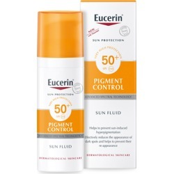 Eucerin Sun Protect Pigment Control Sun Fluid SPF50+ 50ml found on Makeup Collection from Feelunique (UK) for GBP 21.76