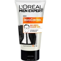 L'Oreal Men Expert Invisicontrol Neat Look Control Hair Gel 150Ml found on Makeup Collection from Feelunique (EU) for GBP 5.83