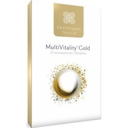 Healthspan MultiVitality Gold 90 Tablets found on Makeup Collection from Feelunique (UK) for GBP 6.15