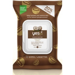 Yes to Coconut Cleansing Wipes x 30 found on Makeup Collection from Feelunique (UK) for GBP 3.06