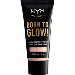 NYX Professional Makeup Born To Glow Naturally Radiant Foundation 30ml Light Porcelain found on Makeup Collection from Feelunique (UK) for GBP 10.34