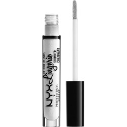 NYX Professional Makeup Lip Lingerie Shimmer 3.4ml Clear found on Makeup Collection from Feelunique (UK) for GBP 7.17