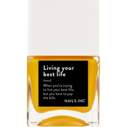 NAILSINC Life Hack Nail Polish 14ml Living Your Best Life found on Makeup Collection from Feelunique (UK) for GBP 9.23