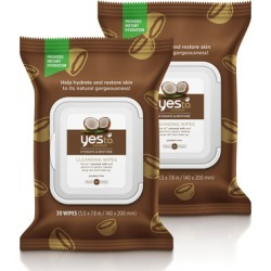 Yes To Coconut 30 Facial Wipes x 2 Packs