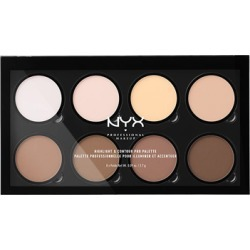 NYX Professional Makeup Highlight & Contour Pro Palette 16.2g found on Makeup Collection from Feelunique (UK) for GBP 20.72