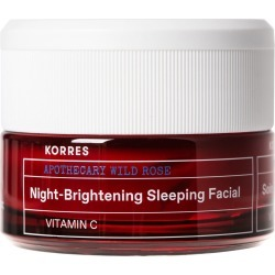 Korres Wild Rose Night-Brightening Sleeping Facial 40Ml found on MODAPINS from Feelunique (EU) for USD $54.99