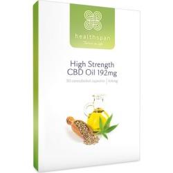 Healthspan High Strength CBD Oil 192mg (30 Capsules)
