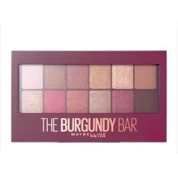 Maybelline Burgundy Bar Eyeshadow Palette 9.6G found on Makeup Collection from Feelunique (EU) for GBP 13.99