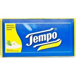Tempo Plus Aloe & Camomile - 80 Tissues found on Bargain Bro UK from Feelunique (EU)