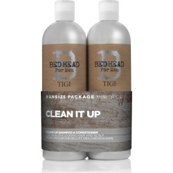 Bed Head by TIGI For Men Clean Up Tween Shampoo & Conditioner Duo 2x750ml found on Makeup Collection from Feelunique (UK) for GBP 22.18