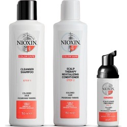 Nioxin 3-Part System Kit 4 For Colored Hair With Progressed Thinning found on Makeup Collection from Feelunique (UK) for GBP 39.68