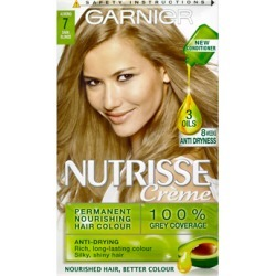 Garnier Nutrisse Cream Nourishing Permanent Hair Colour 7 - Dark Blonde found on Makeup Collection from Feelunique (UK) for GBP 6.32